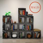 Magis Boogie Woogie Shelving System Set