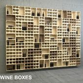Wine boxes panel