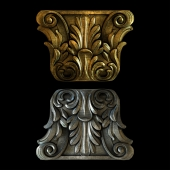 Capital for the pilasters