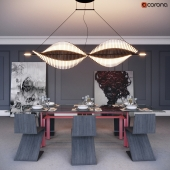 SET dining room in a modern style