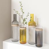 Vase - bottle AMBRE