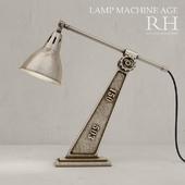 Restoration Hardware Machine Age Task Lamp