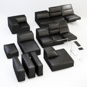 CINEAK Gramercy set of modules of furniture for home theater