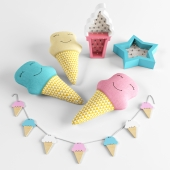 Accessories for childrens Ice Cream