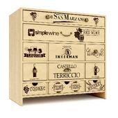 """Wine locker """"to store wine '03"""