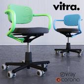 Vitra Allstar chair by Konstantin Grcic (HQ) corona vray
