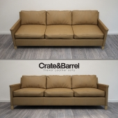 Trevor Leather sofa C&B