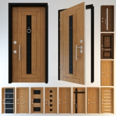 Door Collection 1 - Entrance Doors