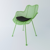 Wiremesh chair