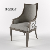 Hooker Furniture Dining Room Sanctuary Upholstered Arm Chair