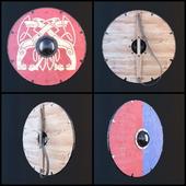 Viking shield - multi texture set