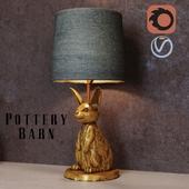 The Emily & Meritt Bunny Table Lamp
