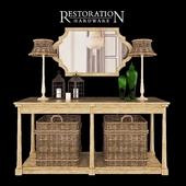 Декоративный набор Restoration Hardware