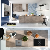 Кухня NOLTE Stone (vray GGX, corona PBR)