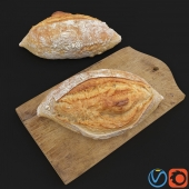 HD Realistic Farmer French Bread