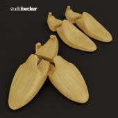 Forms of women's and men's shoes studiobecker