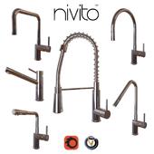 Смесители для кухни Nivito (6 шт., 8 цветов)