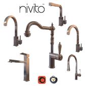 Смесители для кухни Nivito 2  (6 шт., 8 цветов)