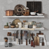 Old Kitchen Set by SWEET GUM Co.