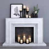 Decorative fireplace 6