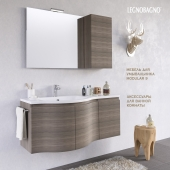 Furniture washbasin MODULAR 9 + Bathroom Accessories