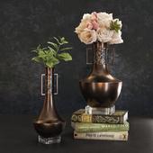 Baker Marco & Polo vases