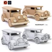 Деревянные игрушки машинки