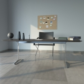 FLEXFORM CARLOTTA armchair & CESTONE table