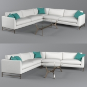 Genesis sectional sofa