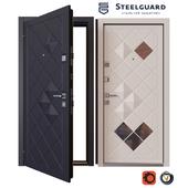 Input metal door SteelGuard Luxor