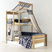 Детская кровать De Breuyn