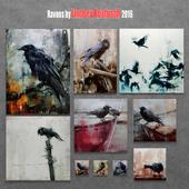 Ravens by Lindsey Kustusch 2016