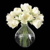 Букет тюльпанов в вазе 3