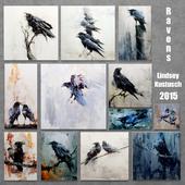 Ravens by Lindsey Kustusch 2015