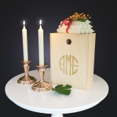 Набор декора Copper Candle Set