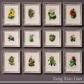 World flowers artist Zeng Xiao Liang