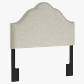 PU5477 Glam Upholstered Arch Headboard by Pulaski