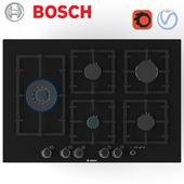 Встраиваемая газовая варочная панель Bosch  PPS816M91E