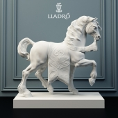 Lladro sculpture palace horse.