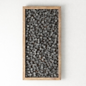 Stone panel cylinder