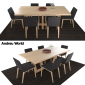 Andreu world, Lineal Comfort SI0594,SI0606,Uves