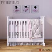 Детская кроватка Pottery Barn Fiona