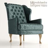Кресло BERGERE NIZZA Mobilsedia