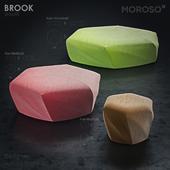 Pouf - BROOK - Moroso