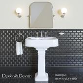 Washbasin Devon&Devon Blues