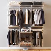 men's closet Elfa