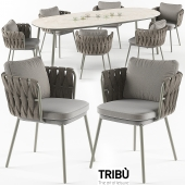 Tosca table & armchair set