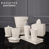 Коллекция аксессуаров Santorini от Kassatex