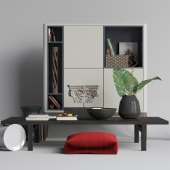 Poliform Home Hotel furniture and decor set