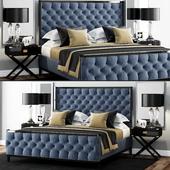 Кровать LuXeo USA Kensington Queen Tufted